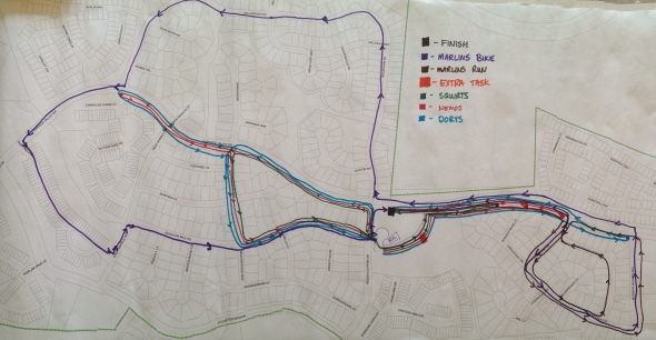 Course Map (Pano)